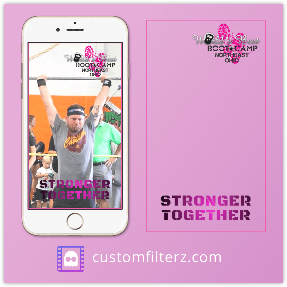 crossfit bootcamp geofilter