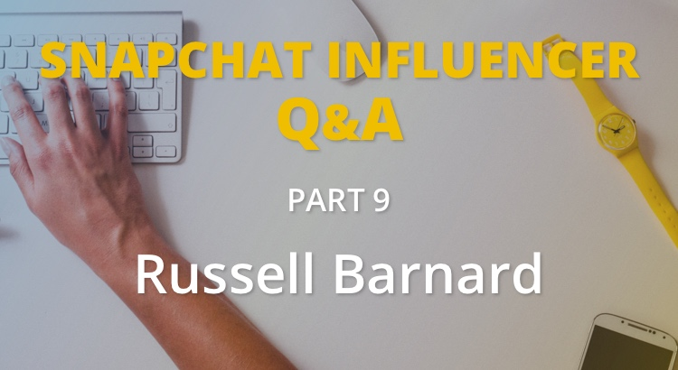 Russell Barnard on Snappd and the future of Snapchat 2