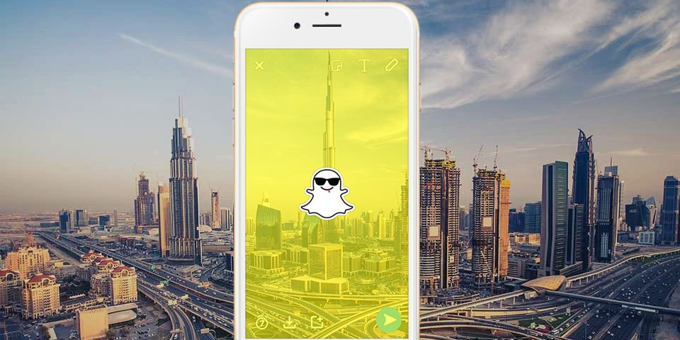Snapchat geofilters are now available in the UAE 3