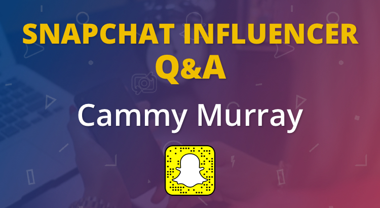 Storytelling on Snapchat with Cammy Murray 6
