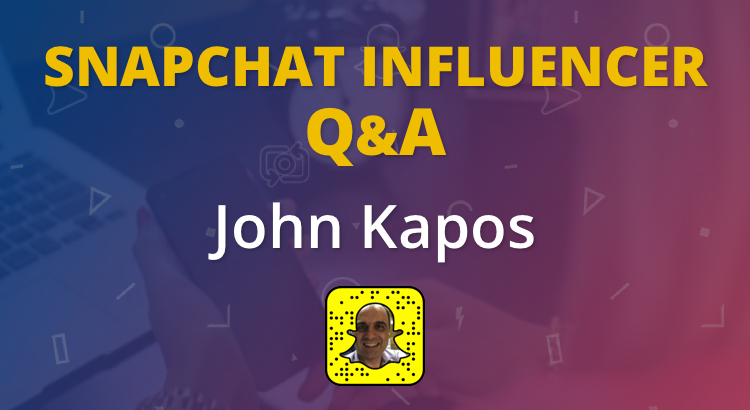 Growing Your Business on Snapchat with John Kapos 2